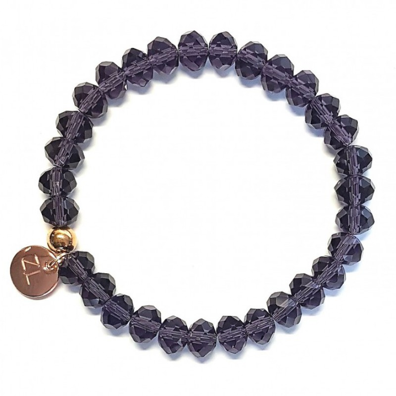 Strass (m) deep purple